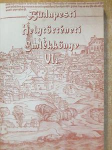 Báder György - Budapesti Helytörténeti Emlékkönyv VI. [antikvár]