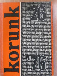 Aradi József - Korunk évkönyv 1976 [antikvár]