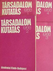 Ábel István - Társadalomkutatás 1988/1-4. [antikvár]