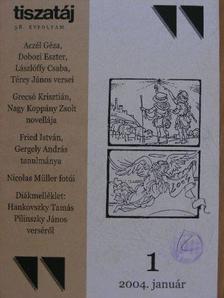 Aczél Géza - Tiszatáj 2004. január [antikvár]