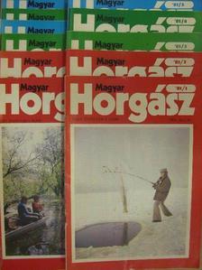 Hegedűs Ferenc - Magyar Horgász 1981. január-december [antikvár]