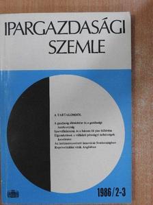 Bánky András - Ipargazdasági szemle 1986/2-3. [antikvár]