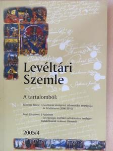 Böőr László - Levéltári Szemle 2005/4. [antikvár]