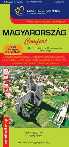 Cartographia - Magyarország Comfort térkép 1:520 000