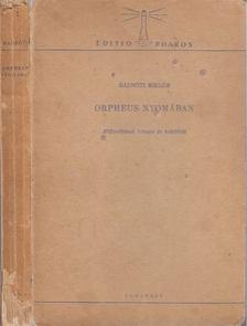 Radnóti Miklós - Orpheus nyomában [antikvár]