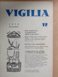 Bálint Sándor - Vigilia 1972. december [antikvár]