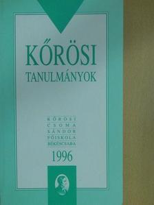 Boros Árpád - Kőrösi tanulmányok [antikvár]