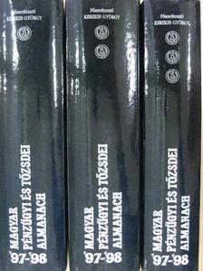 Dr. Asztalos László György - Magyar pénzügyi és tőzsdei almanach 1997-1998 I-III. [antikvár]