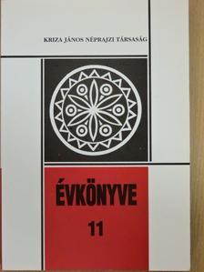 Demeter Éva - Kriza János Néprajzi Társaság Évkönyve 11. [antikvár]