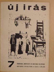 Ágh István - Új Írás 1966. július [antikvár]