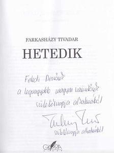 Farkasházy Tivadar - Hetedik (dedikált) [antikvár]