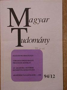 Damjanovich Sándor - Magyar Tudomány 1994. december [antikvár]