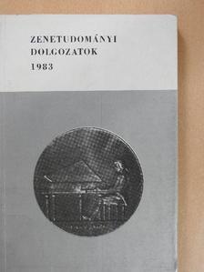 Bárdos Kornél - Zenetudományi dolgozatok 1983 [antikvár]