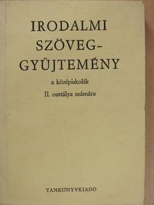 Balassi Bálint - Irodalmi szöveggyűjtemény II. [antikvár]