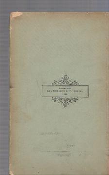 Beöthy Zsolt - Széchenyi és a magyar költészet [antikvár]