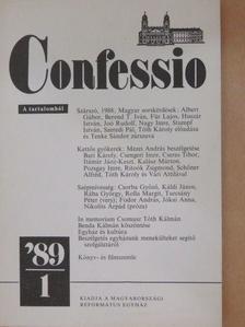 Albert Gábor - Confessio 1989/1 [antikvár]