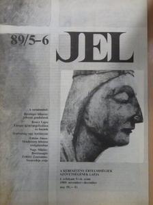 Czigány György - Jel 1989. november-december [antikvár]