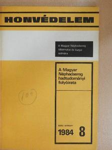Bíró József - Honvédelem 1984/8 [antikvár]