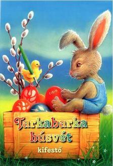 Tarkabarka húsvét-kifestő