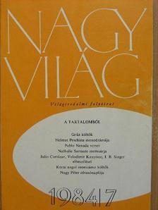 Bajomi Lázár Endre - Nagyvilág 1984. július [antikvár]