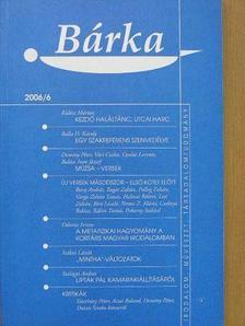 Acsai Roland - Bárka 2006/6. [antikvár]