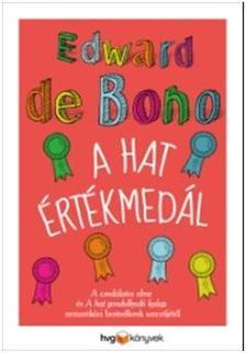 EDWARD DE BONO - A hat értékmedál