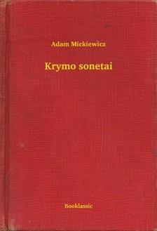 Adam Mickiewicz - Krymo sonetai [eKönyv: epub, mobi]