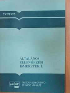 Kovács Lajos - Általános ellenőrzési ismeretek I. [antikvár]