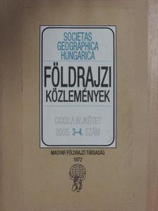 Becsei József - Földrajzi Közlemények 2005/3-4. [antikvár]