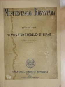 Berecz Károly - Vízvezetékszerelő kisipar [antikvár]