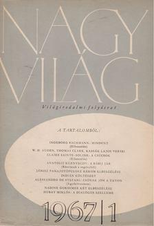 KARDOS LAJOS - Nagyvilág 1967/1. [antikvár]