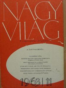 Arthur Miller - Nagyvilág 1963. november [antikvár]
