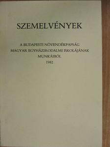 Alfons Auer - Szemelvények a budapesti növendékpapság magyar egyházirodalmi iskolájának munkáiból 1982 [antikvár]