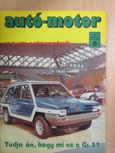 Almássy Tibor - Autó-Motor 1979. március [antikvár]