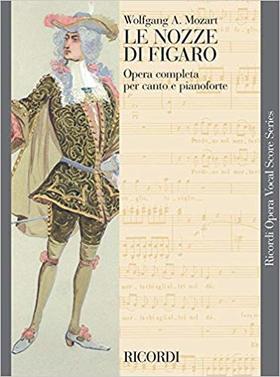 MOZART - LE NOZZE DI FIGARO OPERA COMPLETA PER CANTO E PIANOFORTE