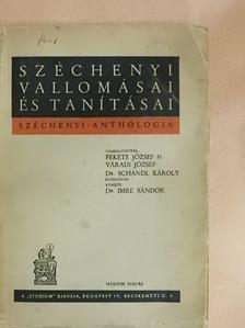 Széchenyi István - Széchenyi vallomásai és tanításai [antikvár]