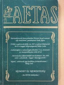 Balla D. Károly - Aetas 1990/1-2. (dedikált példány) [antikvár]