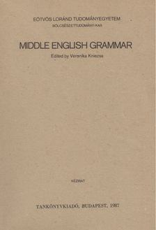 Veronika Kniezsa - Middle English Grammar [antikvár]