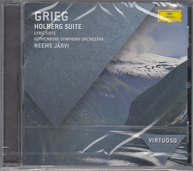 GRIEG - HOLBERG SUITE - LYRIC SUITE CD NEEME JARVI