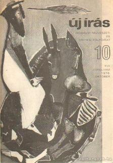 JUHÁSZ FERENC - Új írás 1976/10. október [antikvár]