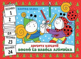 Bartos Erika - Bogyó és Babóca ajándéka-adventi kifestő