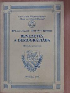 Balázs József - Bevezetés a demográfiába [antikvár]