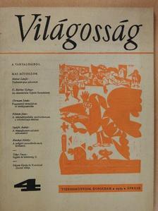 Fekete Gyula - Világosság 1973. április [antikvár]