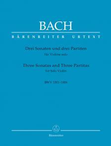 J. S. Bach - DREI SONATEN UND DREI PARTITEN FR VIOLINE SOLO BWV 1001-1006  - REVIDIERTE ED. (PETER WOLLNY)