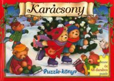 Karácsony puzzle-könyv