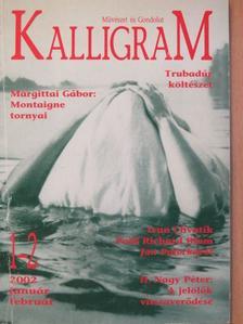 Annette Pehnt - Kalligram 2002. január-február [antikvár]