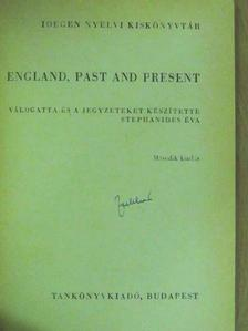 Gerald Durrell - England, past and present [antikvár]