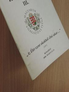 Dobos László - Magyarok V. Világkongresszusa hírlevél III. [antikvár]