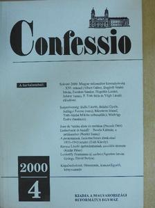 Ágoston István György - Confessio 2000/4. [antikvár]