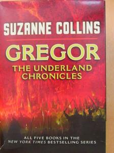 Suzanne Collins - Gregor: The Underland Chronicles 1-5. [antikvár]